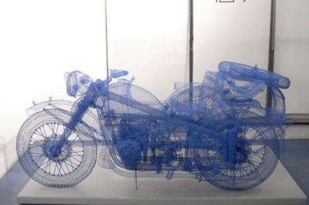 Трехмерные скульптуры художника Shi Jindian (16 фото)