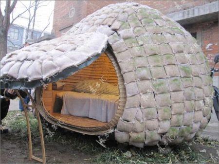 Мобильный дом китайского студента (23 фото)