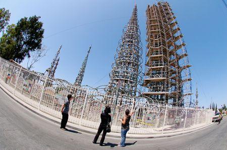 The Watts Towers или башни Симона Родиа (41 фото + 3 видео)