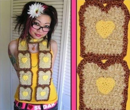 Оригинальные и интересные шарфы (26 фото)