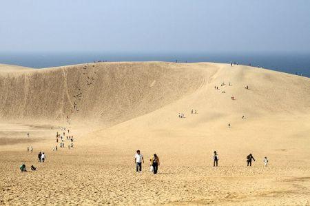 Песчаные дюны Tottori в Японии (18 фото фото + 3 видео)