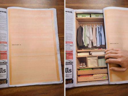 Живые страницы в журналах (32 фото)