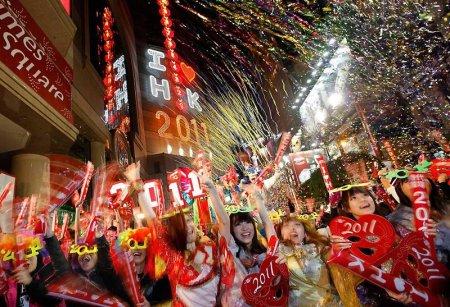Как встречали новый год 2011 (61 фото + 4 видео)