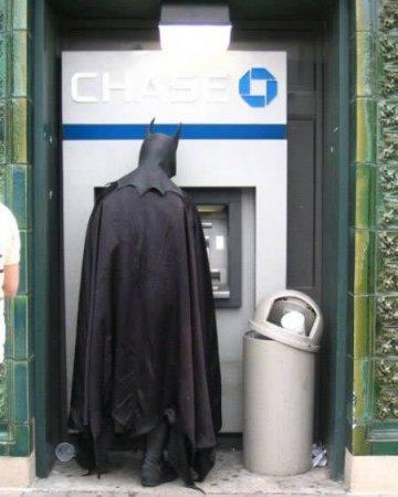 Интересные банкоматы и люди возле них (14 фото)