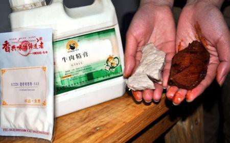 Поддельное мясо в Китае или как сделать из свинины говядину (13 фото)