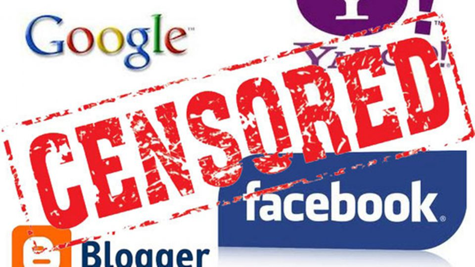 Цензура Google и Facebook